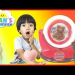 Chocolate Candy Make Your Own Japanese Candy For Kids Bear Bunny Egg Family Fun Toy Ryan ToysReview
