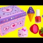 DIY Treasure Box by Melissa and Doug Lisa Frank Lip Balms Shopkins and More