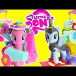My Little Pony Pinkie Pie Donut Shop and Rainbow Dash Cloudominium