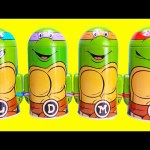 Teenage Mutant Ninja Turtle Coin Banks with Surprises