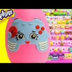 Shopkins Connie Console Play Doh Surprise Egg and Limited Edition Hunt