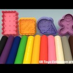 Fun Play and Learn Colours with Play Dough Modelling Clay for Kids