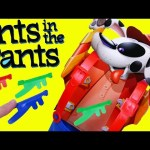 ANTS IN THE PANTS Kids Board Game Surprise Toys & Blind Bags Firehouse Dollhouse Cootie Games