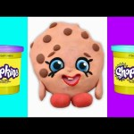 KOOKY COOKIE Shopkins Stop Motion Play doh Video  –  Shopkins Dough Animation