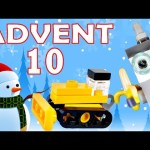 Toy Advent Calendar Day 10 – – Shopkins LEGO Friends Play Doh Minions My Little Pony Disney Princess
