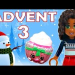 Toy Advent Calendar Day 3 – – Shopkins LEGO Friends Play Doh Minions My Little Pony Disney Princess