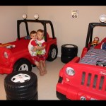 Twins New Little Tikes Jeep Beds!