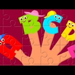 Finger Family Alphabets | Alphabets | Nursery rhyme
