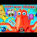 Chase's Corner: Don't Wake Hank FINDING DORY Game w/ MINIONS Surprise Egg Candy (#41) | DOH MUCH FUN