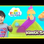 Kinetic Sand Float Adventure Waterpark Toys For Kids Water Toy HotWheels Cars Ryan ToysReview