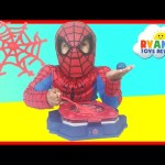 Marvel Science Spider Man Web Creator Lab Kids Video Ryan ToysReview