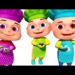 Five Little Babies Baking A Cake | Five Little Babies Collection | Zool Babies Fun Songs