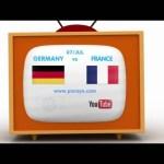 Pocoyo football: EURO 2016 SEMI-FINALS – GERMANY vs. FRANCE – 7th July