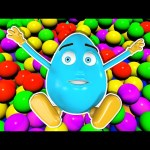 Learn Colors Collection 1 HOUR – Teach Colours Ball Pit Show 3D Balls Indoor Playground Egg Surprise