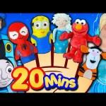Finger Family Song – Mega Finger Family Collection! Frozen, Minions, Elmo, Nursery Rhymes & More!
