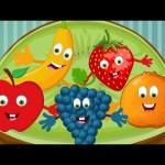 Five little fruits | Nursery rhymes for children | Preschool rhymes