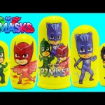 PJ Masks Nesting Dolls with Shopkins Surprises