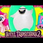 JUMBO Murray the Mummy Hotel Transylvania 2 Movie Play Doh Halloween Surprise Egg Toys Shopkins
