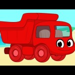 Dumptruck vehicle adventures with Morphle ( +1 hour My Magic Pet Morphle kids videos compilation)
