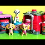 PAW PATROL Pup 2 Hero Skye & Marshall Playset Toys Surprise Mashems Fashems Toys Collection