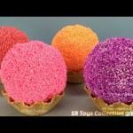 Foam Clay Ice Cream Balls Surprise Toys Paw Patrol My Little Pony Finding Dory Disney Princess Eggs