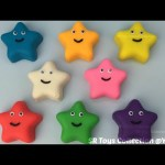 Play Doh Smiley Stars with Chinese Lantern Molds Fun and Creative for Kids