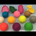 Play Doh Balls with Fruits Molds Fun and Creative for Kids