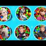 M&Ms SURPRISE cups Frozen the secret life of pets SHOPKINS Disney Princess Eggs Surprise Toys  Slime