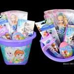 DISNEY FROZEN surprise Bucket full of toys Egg surprise elsa barbie Doll
