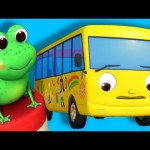 Ten Little Buses | Part 2 | Nursery Rhymes | By LittleBabyBum!