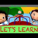 """Let's Learn """"Rain Rain Go Away""""! With LittleBabyBum!"""