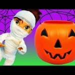 Baby Alive Lucy Gets Mummy Halloween Costume Surprise Toys Trick Or Treat Pumpkin & Blind Bag Toys