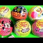 Toys Surprise Chupa Chups Minnie STAR WARS Peppa Pig SpongeBob Tom Jerry Disney Frozen Anna Elsa