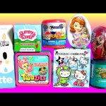 TOYS SURPRISE Yummy World Twozies Tokidoki Hello Kitty Frenzies Moofia Frozen Toilet Candy Tales