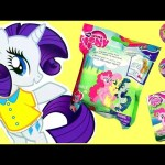My Little Pony SURPRISE TOYS Fashems Squishy POPs Heart Toys + MLP Magnetic Wooden Dress Up Doll