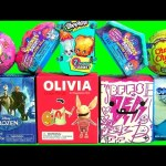TOYS SURPRISE Frozen Ice Palace Snow Olivia Pig BFFS Squinkies Mystery Villa DO Drops Peppa Pig