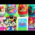 Toy Surprise for Kids Minnie Mickey SHOPKINS EGG Sofia Peppa Pig DORY Zootropolis Children toys