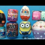 Surprise Toys Cupcake Justice League Mini Figz Minions Kinder Chocolate Egg Shopkins Frozen Fashems