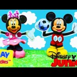 Mickey Mouse Clubhouse CLAY BUDDIES with Minnie Mouse &  Surprise Eggs