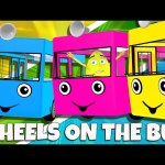 Wheels On The Bus Part 2 Compilation Nursery Rhymes Colors Collection by Animated Surprise Eggs TV