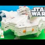 STAR WARS Disney Star Wars Millenium Falcon Hans Solo Star Wars Video Toy Review