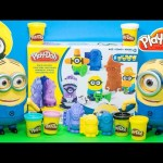 PLAY DOH Minion Despicable Me Minion Play-Doh Video Toy Review