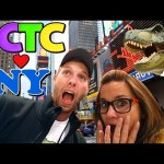 Toy Hunting in NEW YORK CITY – Giant T-Rex, Frozen Walking Sven and a HUGE ToysRus Ferris Wheel