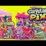 Sand Art Toy Crystal Pix Wacky-Tivities Craft DIY Colors & Magic Sand Machine DisneyCarToys