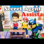 SECRET AGENT ASSISTANT Paw Patrol Nickelodoen Special Agent Assistant Toys Video Parody