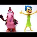 Play Doh Joy & Bing Bong Stop Motion Inside Out! Disney Pixar Playdough Animación de Inside Out