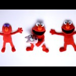 Play Doh ELMO Stop Motion Sesame Street! Elmo Playdough Animación de Sesame Street