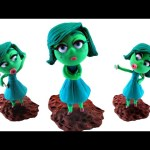 Play Doh DISGUST Stop Motion Inside Out! Disney Pixar Playdough Animación de Inside Out