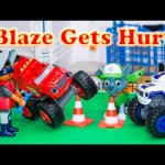 BLAZE AND THE MONSTER MACHINES Nickelodeon Blaze Goes To The Hospital with Paw Patrol a Video Parody