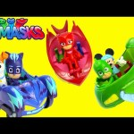 NEW PJ Masks Catboy Cat Car Owlette Owl Glider Gekko Mobile